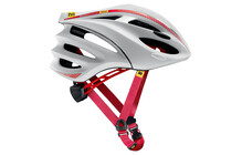Mavic Syncro Casque Route rouge/blanc